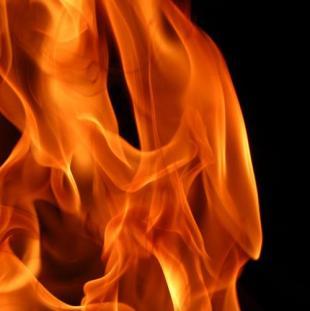 Picture of some flames