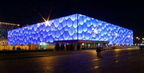 Picture of the Water Cube, Beijing